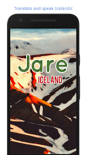 Jare - Translate and Speak Icelandic - náhled