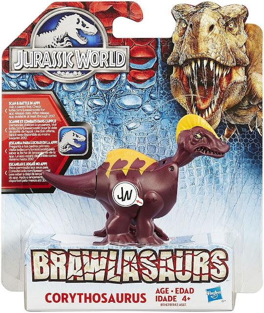 Sản phẩm Khủng long Đầu sừng Corythosaurus Chiến đấu Jurassic World Hasbro B1147/B1143