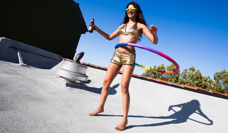 Rooftop Hula Hoop
