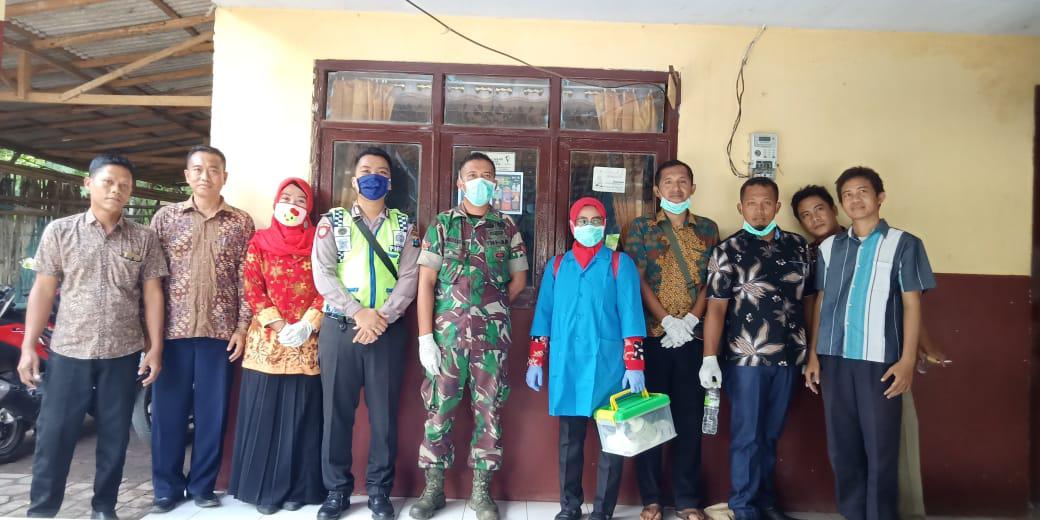 Satgas Pencegahan Covid -19 Desa Kerpangan Gerak Cepat