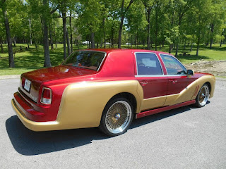 This 1996 Lincoln Town Car was transformed to a Rolls-Royce Phantom