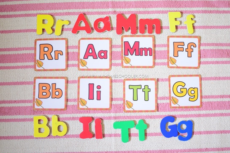 Language Lessons for Preschoolers: RAMFBITG