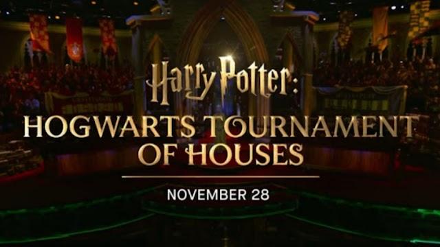 """""""Harry Potter: Hogwarts Tournament of Houses"""" estreia em 28 de novembro"""