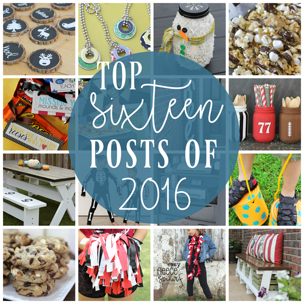 Top 16 Post of 2016 at GingerSnapCrafts.com #bestof2016 #gingersnapcrafts