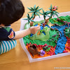 Dinosaur Small World Play Tray
