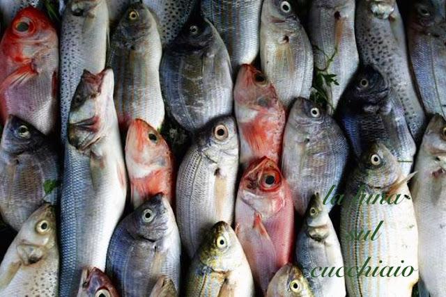 la spesa di stagione: frutta, verdura e pesce di luglio