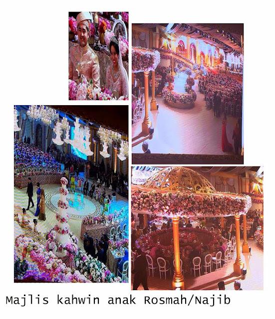 Gambar Perkahwinan Anak Najib Rosmah