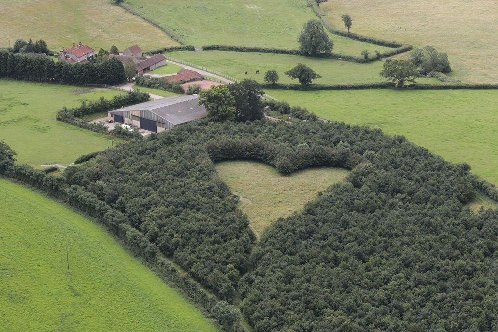 a forma di cuore-Gloucestershire
