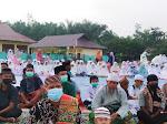 Ribuan Umat Muslim Desa Siabu Laksanakan Sholat Idul Adha 1442 Hijriyyah di Lapangan