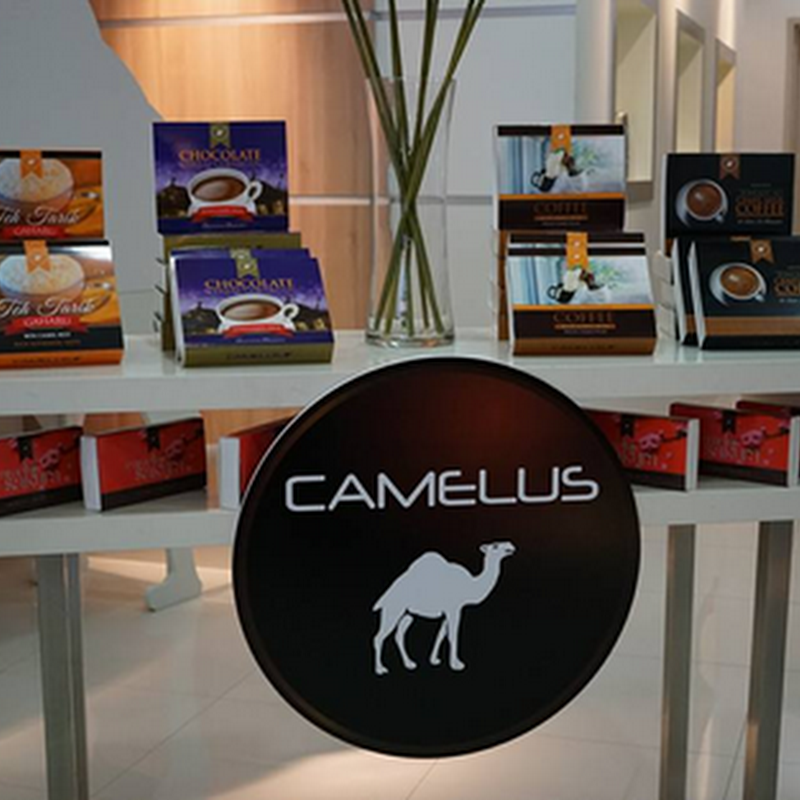 Produk susu unta dari CAMELUS !