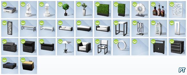 De Sims 4 Perfecte Patio Accessoires nieuwe voorwerpen