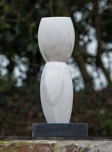 Tor: PORTUGUESE MARBLE, 2013: W 40cm, H 115 cm, D 22 cm; SOLD