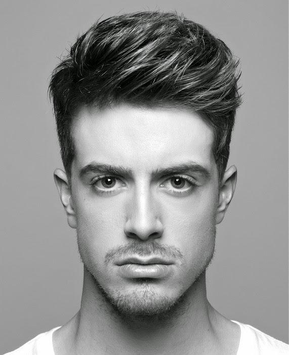 Peinados para cabello corto lacio hombres