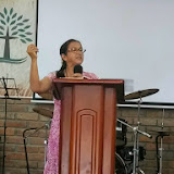 """Missionary Martha Henao reminds us, """"God is with you, and where God is with you is where you should penetrate the world of darkness."""""""