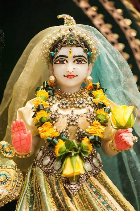 ISKCON Goloka Dhama, Germany Deity Darshan 31 Jan 2016 (4)