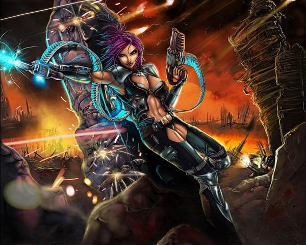 Hell Of Glamorous Fighter, Warriors 3