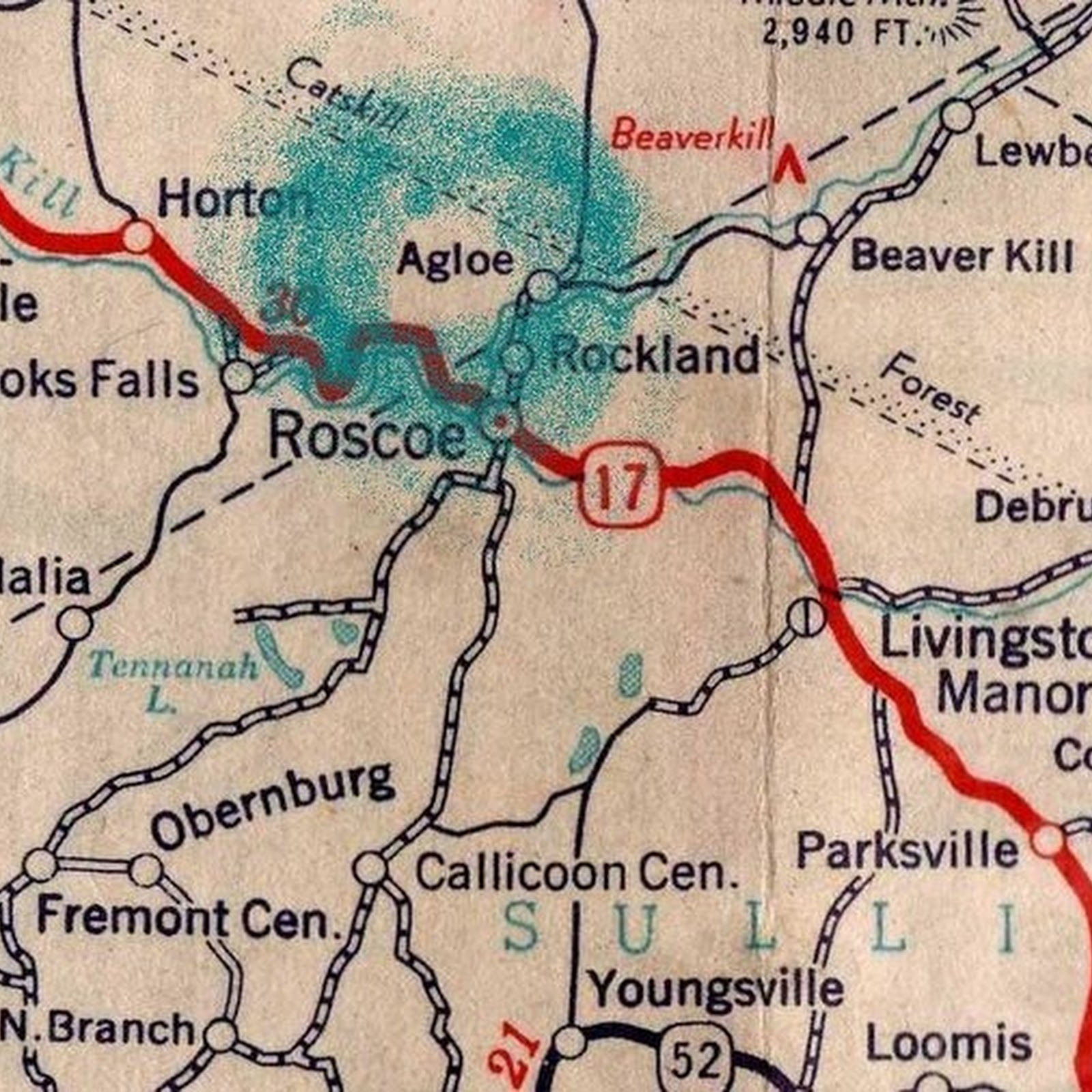 Agloe: A Fake Town That Became Real