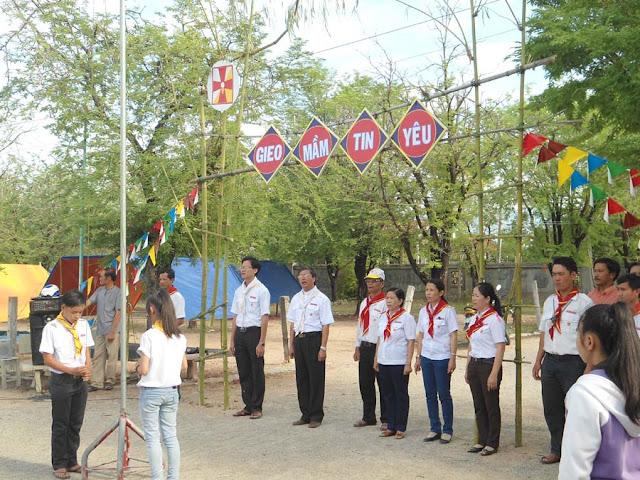 Sinh hoạt hè của Thiếu Nhi Giáo xứ Quảng Thuận.