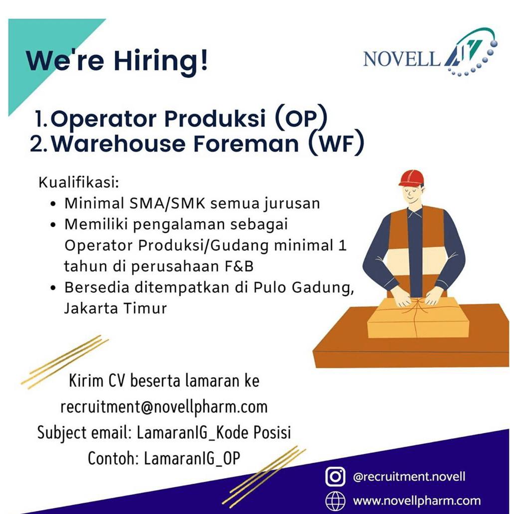 Recruitment@novellpharm.com