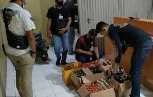 Polres Majalengka Polda Jabar Amankan Ratusan Botol Miras Jenis Ciu