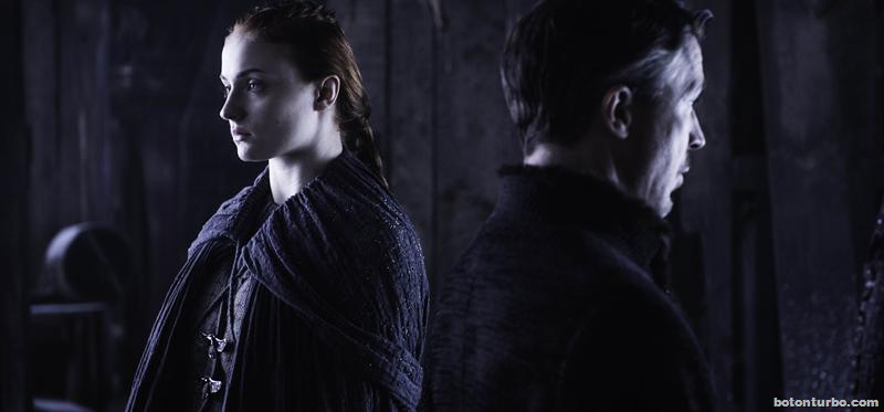 Sansa enfrentando por fin a Meñique