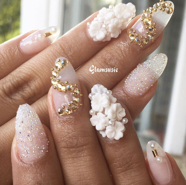 Nail Art Designs For Wedding
