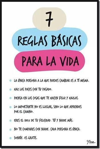 7 reglas basicas