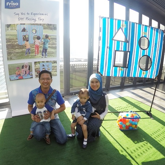 'Say YES to Experiences' Eksperimen YA untuk anak | Friso Gold