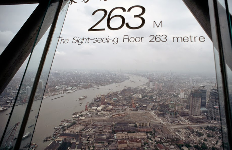 14. Observation Deck at Oriental Pearl TV Tower. Shanghai