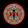 Red Goddess Pentacle