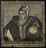 Gravure De John Dee F Cleyn 1658