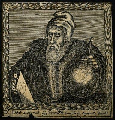 Gravure De John Dee F Cleyn 1658, John Dee