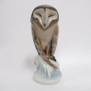 Royal Copenhagen Ceramic Owl