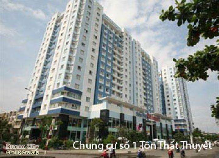 Bán gấp Căn hộ Quận 4 giá rẻ, chung cư Tôn Thất Thuyết, 50 m2 giá 1, 22 tỷ – NP44
