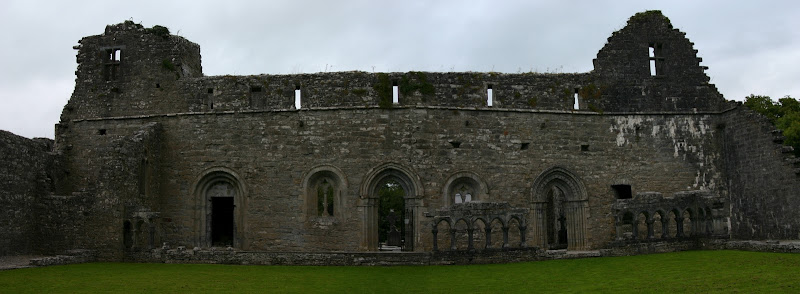 Cong Abbey panorama