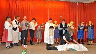 Várda Gyöngyvirág Nyugdíjas Klub - Jelenet - Bolond temetés