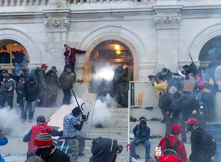 Gun sales surge after US Capitol riots as Republicans and Democrats stock up