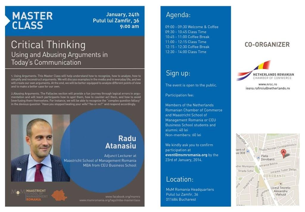 Flyer Radu Atanasiu Critical Thinking_1