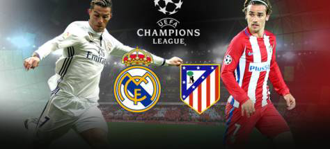 Real Madrid vs Athletico Madrid Champions League All Goals and Highlights