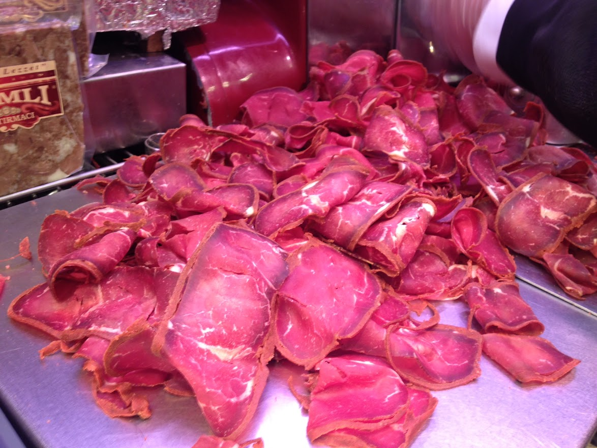 Pastirma. Comida típica de Estambul