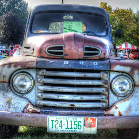 1950 Ford PU by Rick Touhey - Transportation Automobiles ( pickup, old pickup, ford,  )