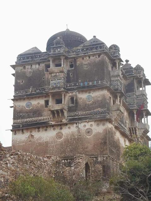 Jaimal Fatta mahal in Chittorgarh