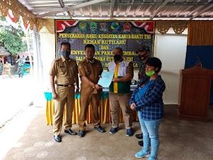 Pengrajin Tenun Gadod Desa Nunuk Dapat Bantuan Dana dari Baznas Kabupaten Majalengka