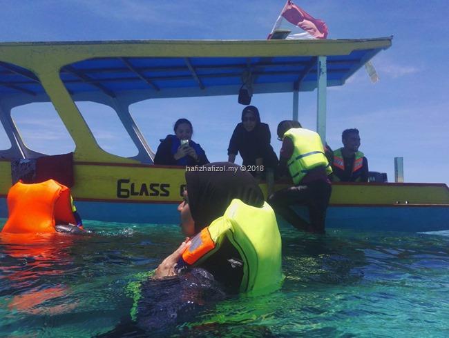 snorkeling di Gili Air Gili Meno