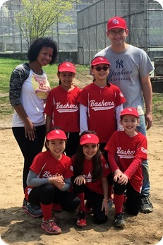 Elaine's Bashers Softball Team