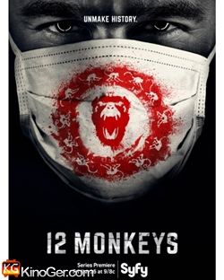 12 Monkeys Staffel 1-4 (2015)