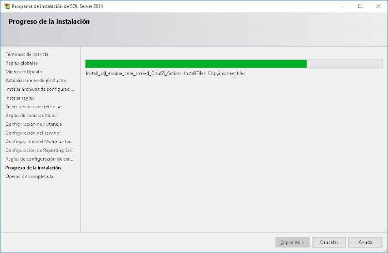 Descargar e instalar Microsoft SQL Server Express 2014 en Windows 10