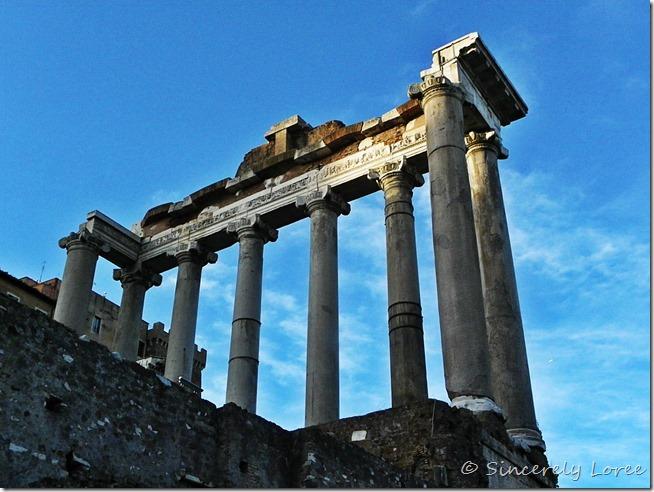 Temple of Saturn, Roman Forum, Rome