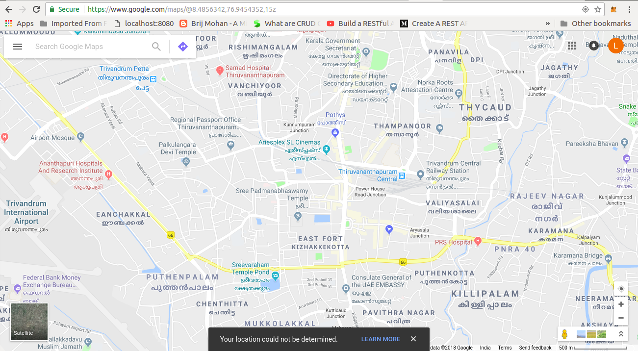 Getting Current Location Issue In Web Browser Google Maps Hilfe