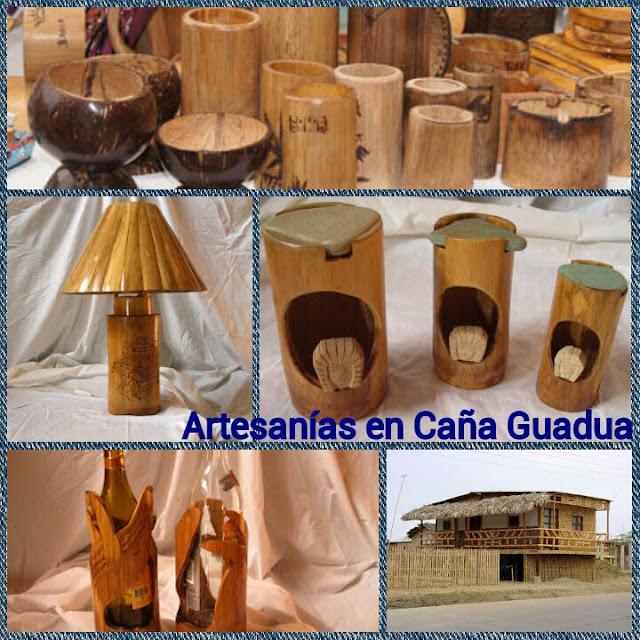 ADORNOS EN CAÑA GUADUA